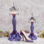Abocos Dress Jewelry Hanging ตุ๊กตาแขวนเครื่องประดับ set 8