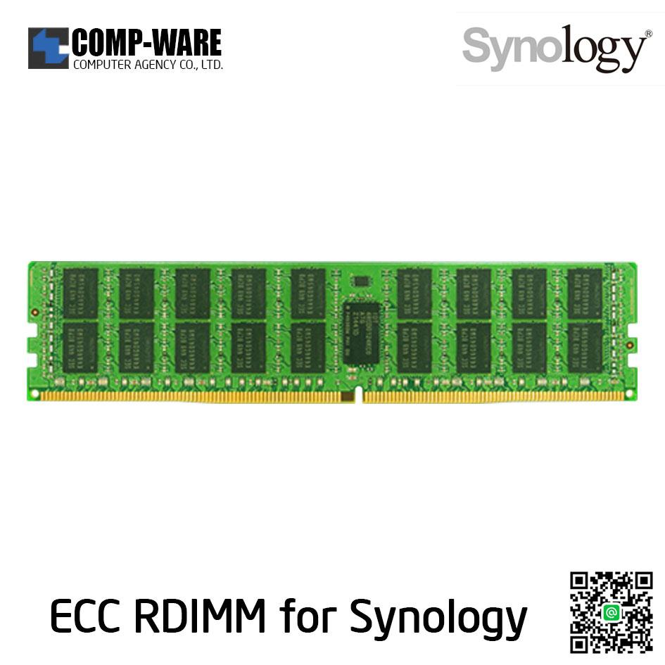Synology RAM Module 16GB DDR4-2133 ECC Registered DIMM 288pin 1.2V RAMRG2133DDR4-16G