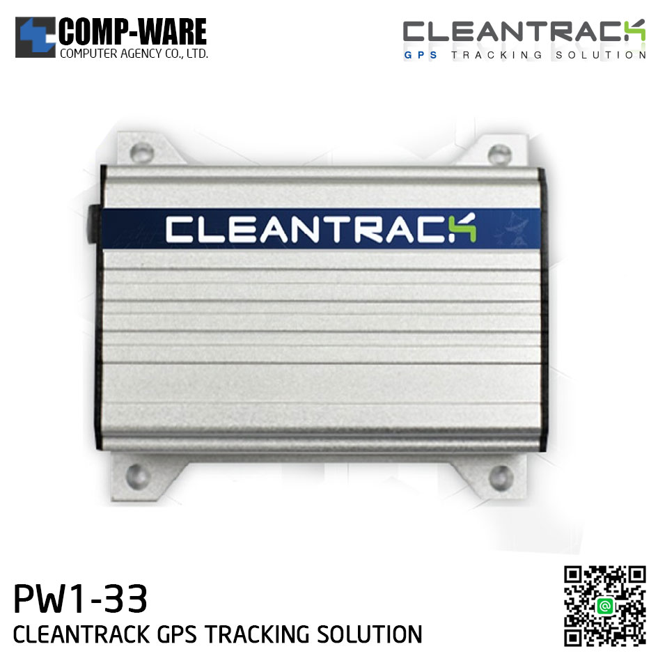 CLEANTRACK GPS TRACKING SOLUTION PW1-33