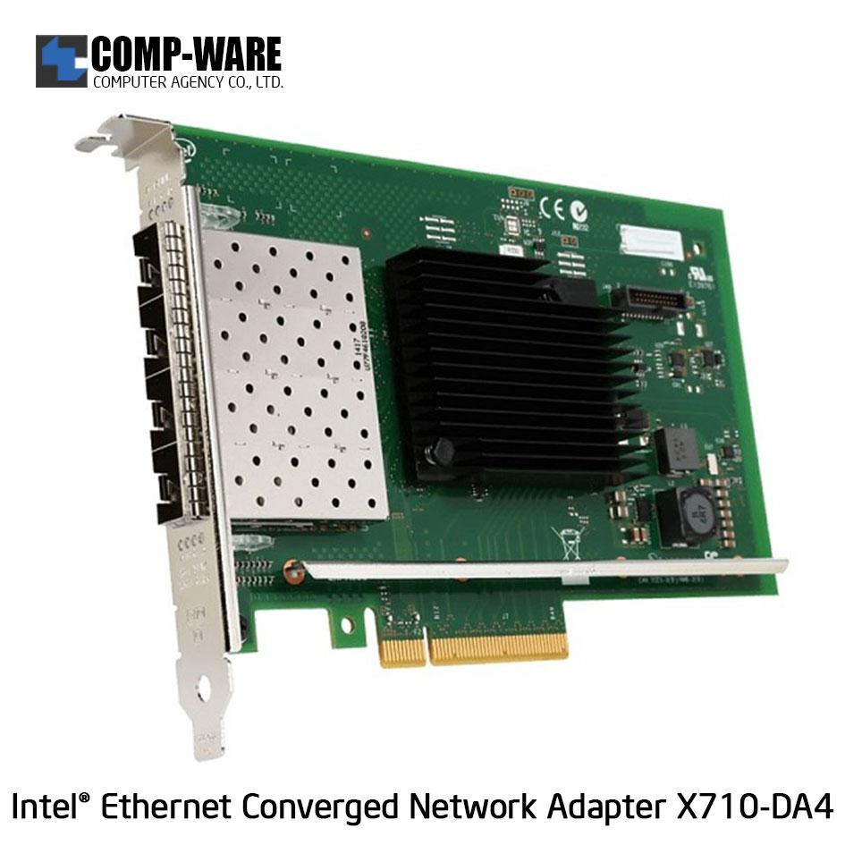 Intel Ethernet Converged Network Adapter X710-DA4 (4-Port) SFP+DAC Connector
