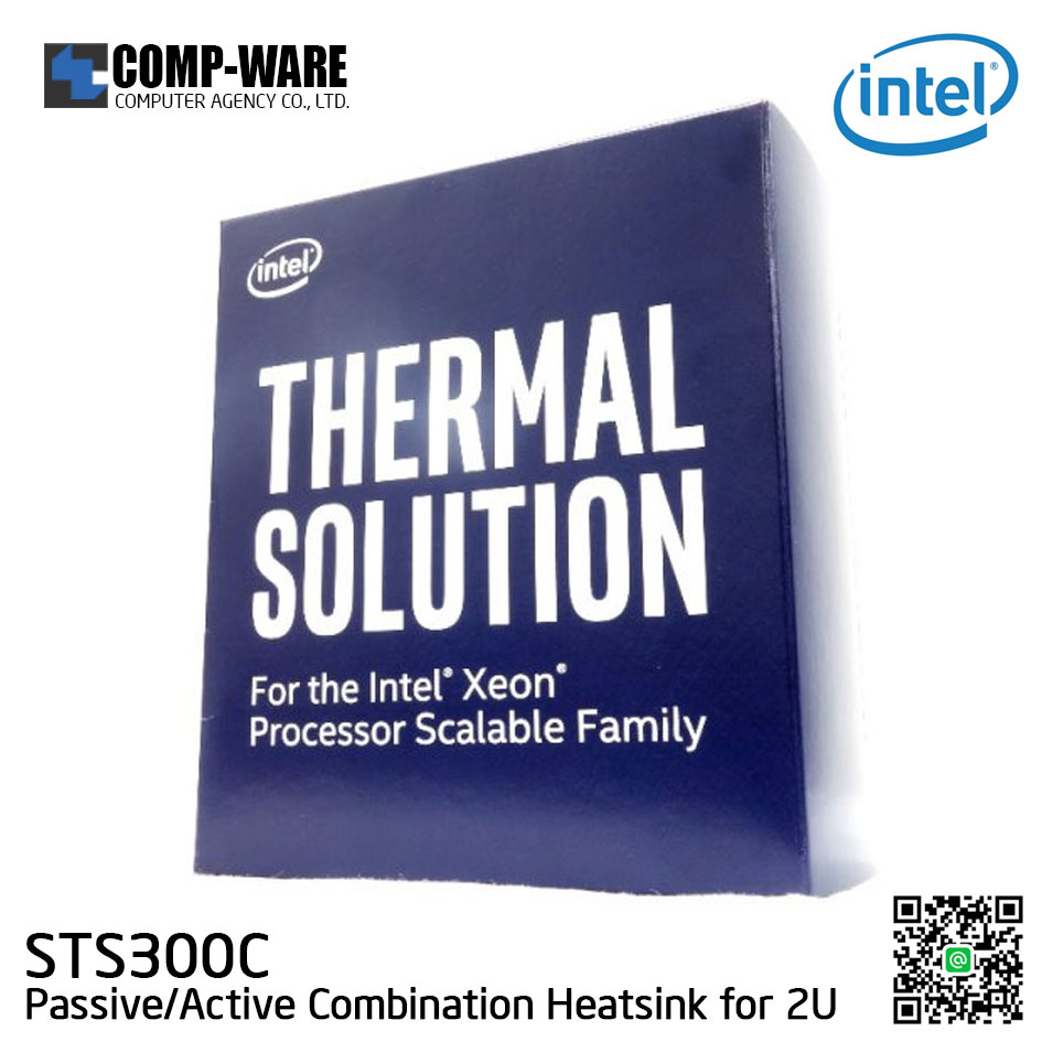 Intel STS300C Thermal Solution LGA3647 Scalable Series Passive/Active Heatsink for 2U Chassis