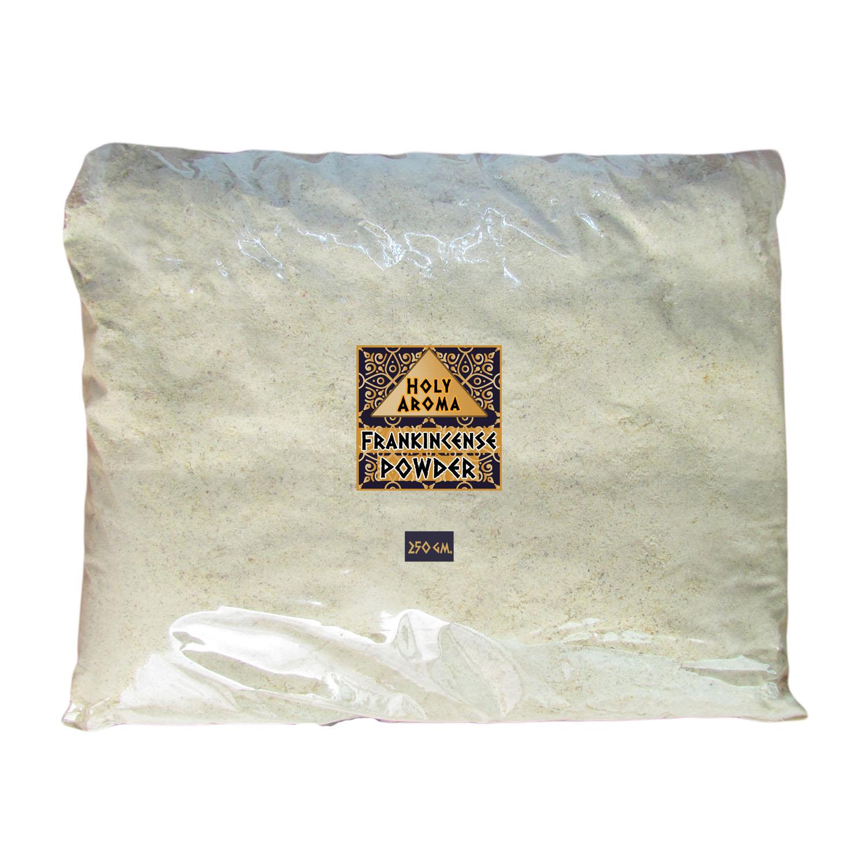 ผงกำยาน อโรม่า Frankincense Powder แท้ 100% จากประเทศโอมาน Oman กลิ่นหอมสะอาด ลดความเครียด แก้โรคภูมิแพ้ หอบหืด ไซนัส ไข้หวัด ช่วยฟอกอากาศ บำรุงผิว ลดเรือนริ้วรอย แก้ปวด บวม ไขข้ออักเสบ เสริมสร้างเซลและภูมิคุ้มกัน 250 g