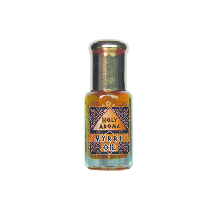 น้ำมันมดยอบ อโรม่า Myrrh Oil แท้ 100% จากประเทศโซมาเลีย Somalia กลิ่นหอมหวาน ลดเครียด มีสมาธิ รักษาโรคทางระบบทางเดินอาหาร ลดการอักเสบ เสริมสร้างเซลและภูมิคุ้มกัน ลดริ้วรอย เพิ่มความชุ่มชื้นผิว 6 ml.