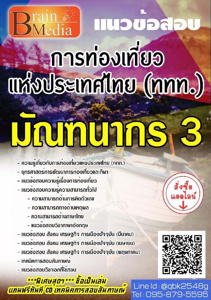 แนวข้อสอบ มัณฑนากร3 การท่องเที่ยวแห่งประเทศไทย(ททท.) พร้อมเฉลย