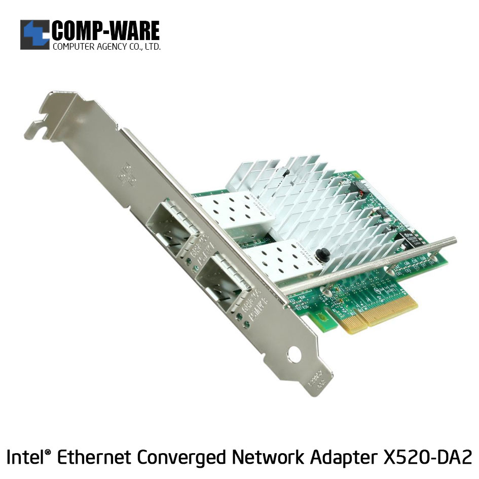 Intel Ethernet Converged Network Adapter X520-DA2 (2-Port) SFP+DAC Connector