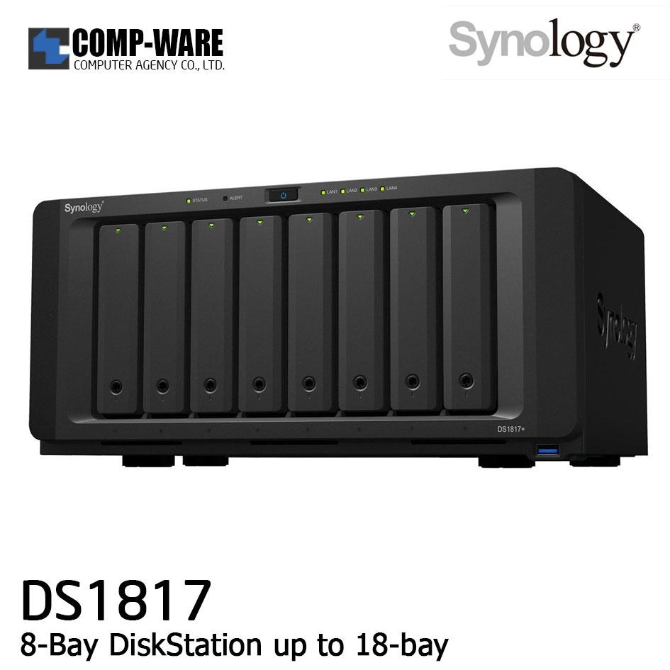 Synology DiskStation (8-Bay) DS1817 (4GB RAM)