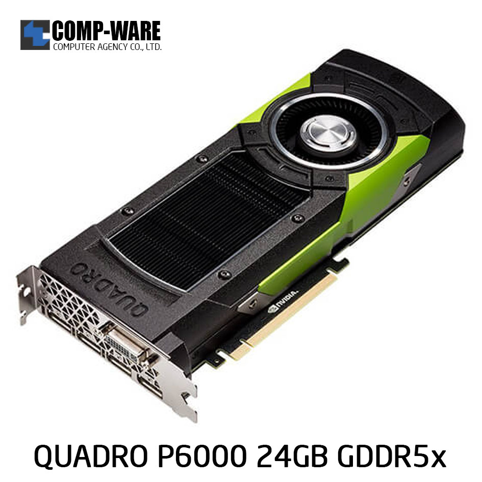 Leadtek Nvidia Quadro P6000 Workstation Graphics Card