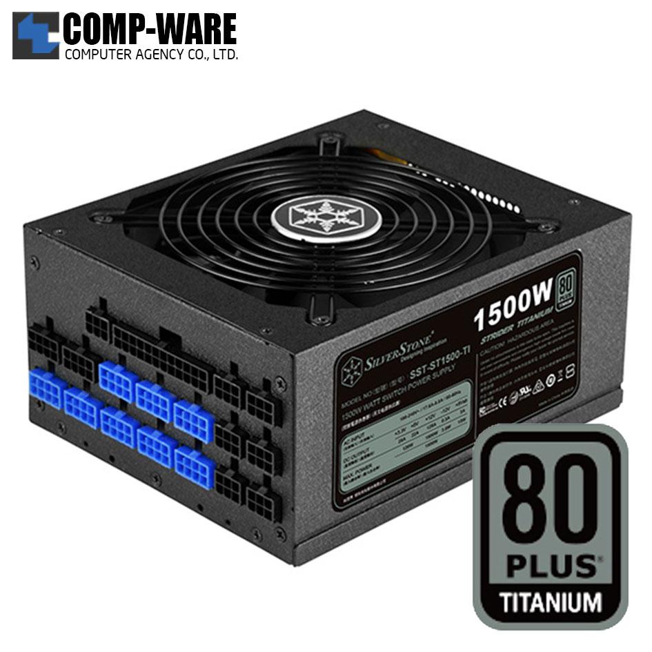 SilverStone Strider ST1500-TI 1500Watt 80Plus Titanium ATX Power Supply