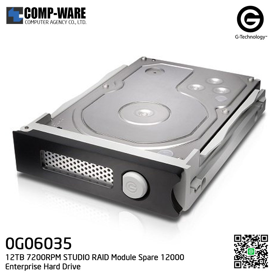G-Technology 12TB 7200RPM STUDIO RAID Module Spare 12000 Enterprise Hard Drive - 0G06035