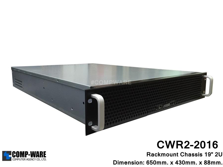 "Server Rackmount 19"" 2U CWR2-2016 (6-HDD Internal) ATX/2U Single Power Supply"
