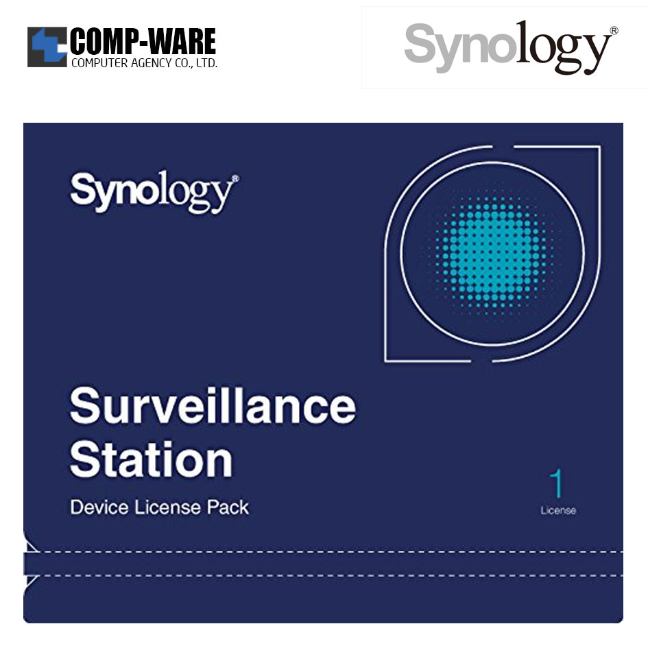 Synology Surveillance Device License Pack 1 (1 license for cameras and I/O modules)