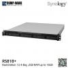 Synology RackStation (1U 4-Bay) RS818+ (2GB RAM) Single Power Supply - Rail kit (not included)