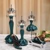 Abocos Dress Jewelry Hanging ตุ๊กตาแขวนเครื่องประดับ ชุดราตรีสีเขียว