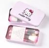 Hello Kitty ชุดแปรงแต่งหน้า แบบกล่อง