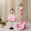 Abocos Dress Jewelry Hanging ตุ๊กตาแขวนเครื่องประดับ แบบเซต3ชิ้น
