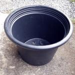 กระถางพลาสติกดำ ขนาด 15 นิ้ว จำนวน 5ใบ