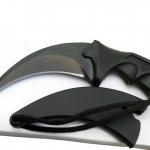 มีดคารัมบิต สีดำ คมกริบ CS:GO Karambit Knife