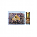 เม็ดมดยอบ เรซิ่น อโรม่า Myrrh Powder Gum Tear แท้ 100% 50g + น้ำมันมดยอบ อโรม่า Myrrh Oil แท้ 100% 3 ml.