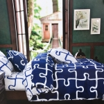 ชุดผ้าปูที่นอนลายน่ารักทั่วไป ขนาด 6 ฟุต, 5 ฟุต, 3.5 ฟุต