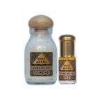 น้ำมันกำยาน อโรม่า Frankincense Oil แท้ 100% 3 ml.+ ผงกำยาน อโรม่า Frankincense Powder แท้ 100% 40 g