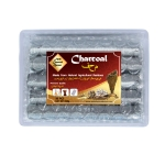 Arab Charcoal Burner ถ่านพิเศษ ถ่านชาโคล สำหรับจุดไฟเผา ไม้กฤษณา ไม้จันทน์ กำยาน มดยอบ ยางไม้หอมทุกชนิด ทำจากธรรมชาติ 100% ไร้กลิ่น ไร้ควัน ไม่มีประกายไฟ ปลอดภัย ไร้สารเคมี จุดนานถึง 4-5 ชมต่อชิ้น - 1 กล่อง