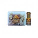 กำยาน เม็ดกำยาน เรซิ่น อโรม่า Frankincense Resin Gum Tear แท้ 100% 50 g + น้ำมันกำยาน อโรม่า Frankincense Oil แท้ 100% 3 ml.