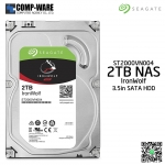 Seagate 2TB IronWolf NAS SATA 6Gb/s 5900RPM 64MB Cache 3.5-Inch Internal Hard Drive (ST2000VN004)