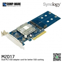 Synology M2D17 Dual M.2 SSD Adapter Card