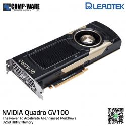 Leadtek Nvidia Quadro GV100 Workstation Graphics Card