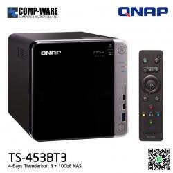 QNAP NAS (4-Bay) TS-453BT3 (8GB RAM) Thunderbolt 3 + 10GbE NAS