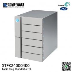 Seagate LaCie 6big 24TB 6-Bay Thunderbolt 3 RAID Array (6 x 4TB) STFK24000400