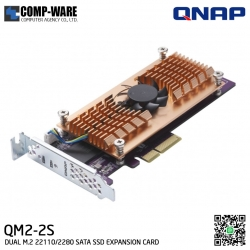 QNAP QM2-2S QM2 Expansion Card (Add M.2 SSD Slots) PCI-Express
