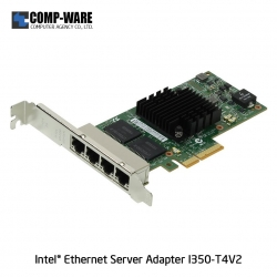 Intel Ethernet Server Adapter I350-T4V2 (4-Port) RJ-45 Connector
