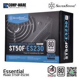 SilverStone Essential ST50F-ES230 500Watt 80Plus ATX Power Supply
