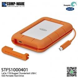 Seagate LaCie 1TB Rugged Thunderbolt USB-C SSD Portable Hard Drive - STFS1000401