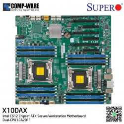 Supermicro X10DAX Intel C612 Chipset ATX Server/Workstation Motherboard Dual-CPU LGA2011