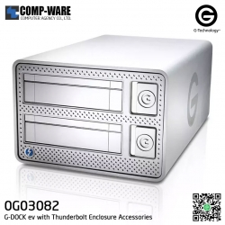 G-Technology G-DOCK ev with Thunderbolt Enclosure Accessories - 0G03082