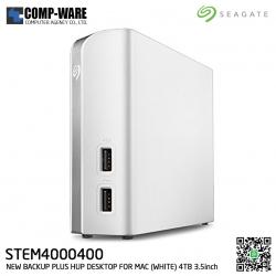 Seagate 4TB External Storage Hard Drives for Mac 3.5inch USB 3.0 - STEM4000400