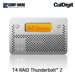CalDigit VR mini 2 (4TB) Media RAID System with Firewire & USB Interface