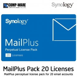 Synology MailPlus License Pack 20 (20 email accounts)