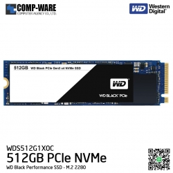 WD Black 512GB Performance SSD - M.2 2280 PCIe NVMe Solid State Drive - WDS256G1X0C