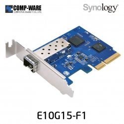 Synology 10GbE Network Card E10G15-F1 Single-port 10 Gigabit SFP+ port PCIe x4 Ethernet adapter