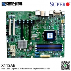 Supermicro X11SAE Intel C236 Chipset ATX Server/Workstation Motherboard Single-CPU LGA1151