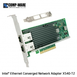 Intel Ethernet Converged Network Adapter X540-T2 (2-Port) RJ-45 Connector