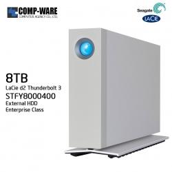 Seagate LaCie 8TB d2 Thunderbolt 3 & USB 3.1 External Hard Drive STFY8000400