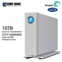 LaCie 10TB d2 Thunderbolt 3 & USB 3.1 External Hard Drive STFY10000400