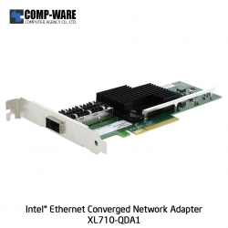 Intel Ethernet Converged Network Adapter XL710-QDA1 (1-Port) QSFP+DAC Connector