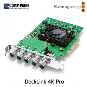DeckLink 4K Pro - Blackmagic Design