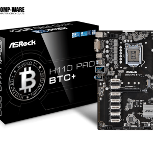 ASRock H110 Pro BTC+ (13-PCIe) Cryptocoin Mining ATX Motherboard