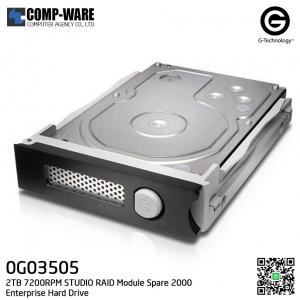G-Technology 2TB 7200RPM STUDIO RAID Module Spare 2000 Enterprise Hard Drive - 0G03505